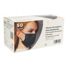 Suu-nenä hygieniasuojain IIR musta